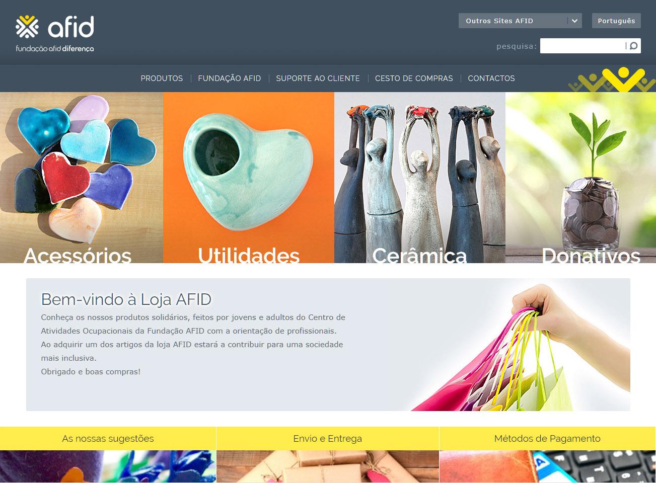 Loja da Fundação AFID