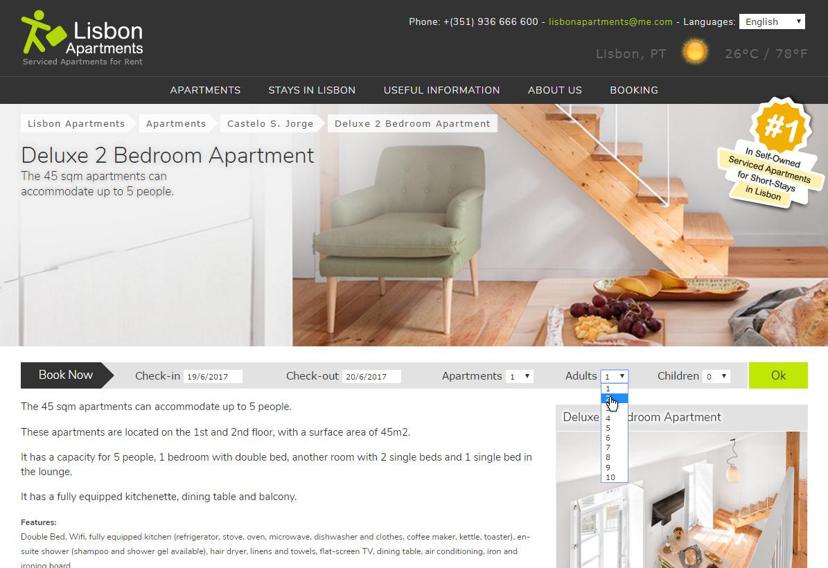Site Lisbon Apartments