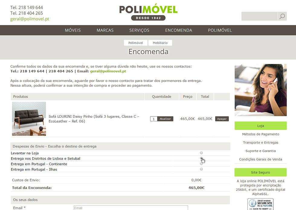 Loja online Polimóvel