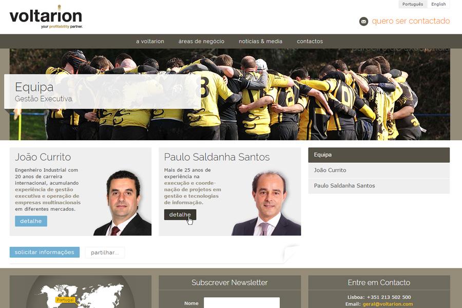 Website VOLTARION