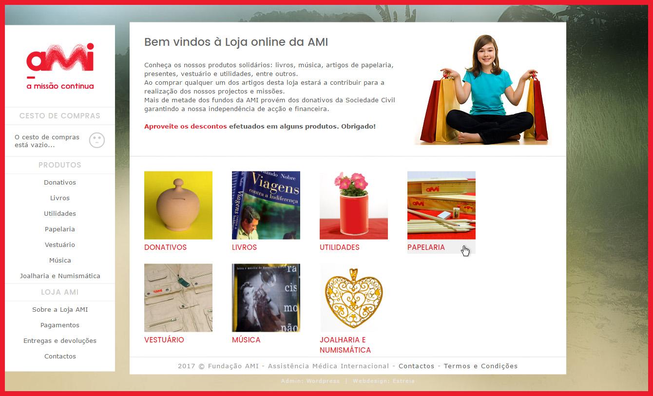 Loja online AMI