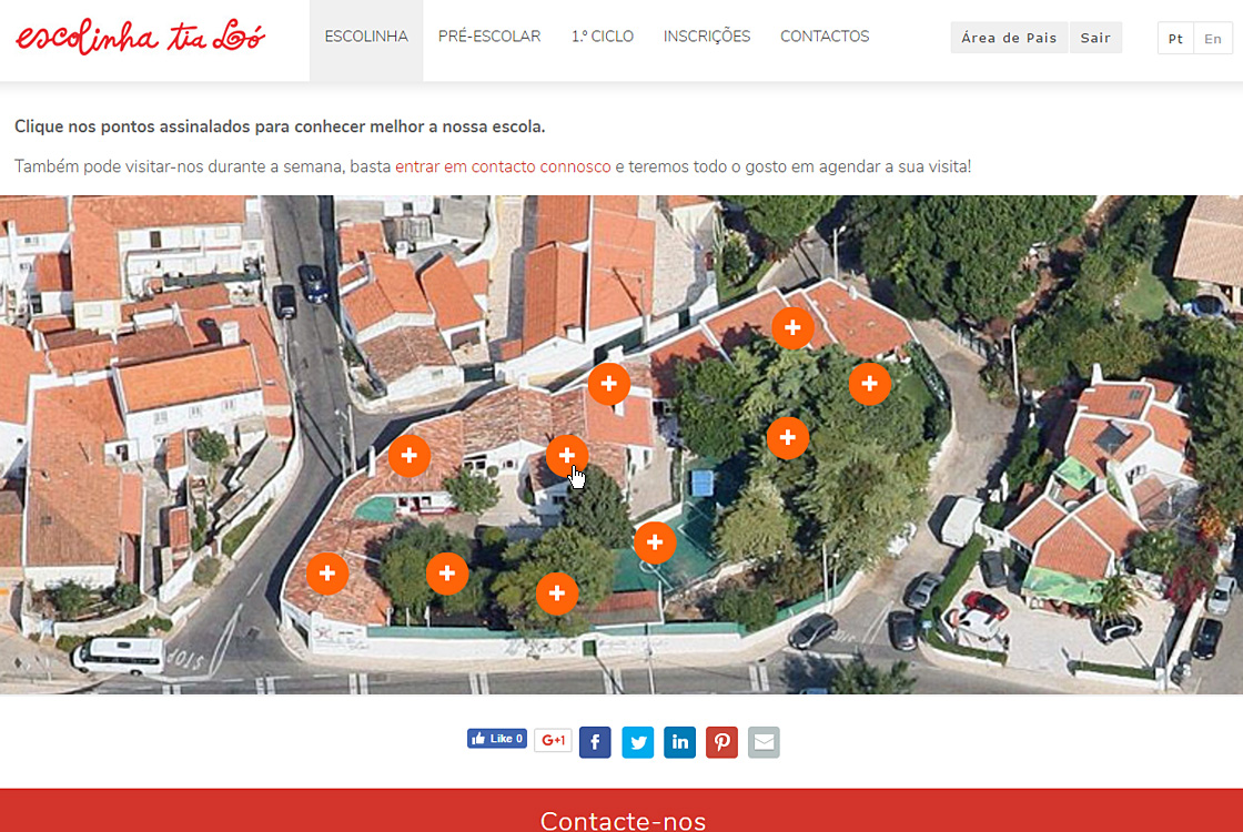 Website Escolinha Tia Ló