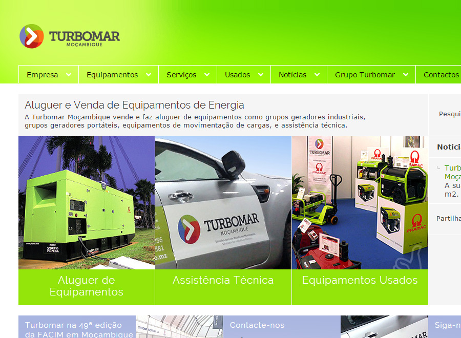 Sites Grupo TURBOMAR