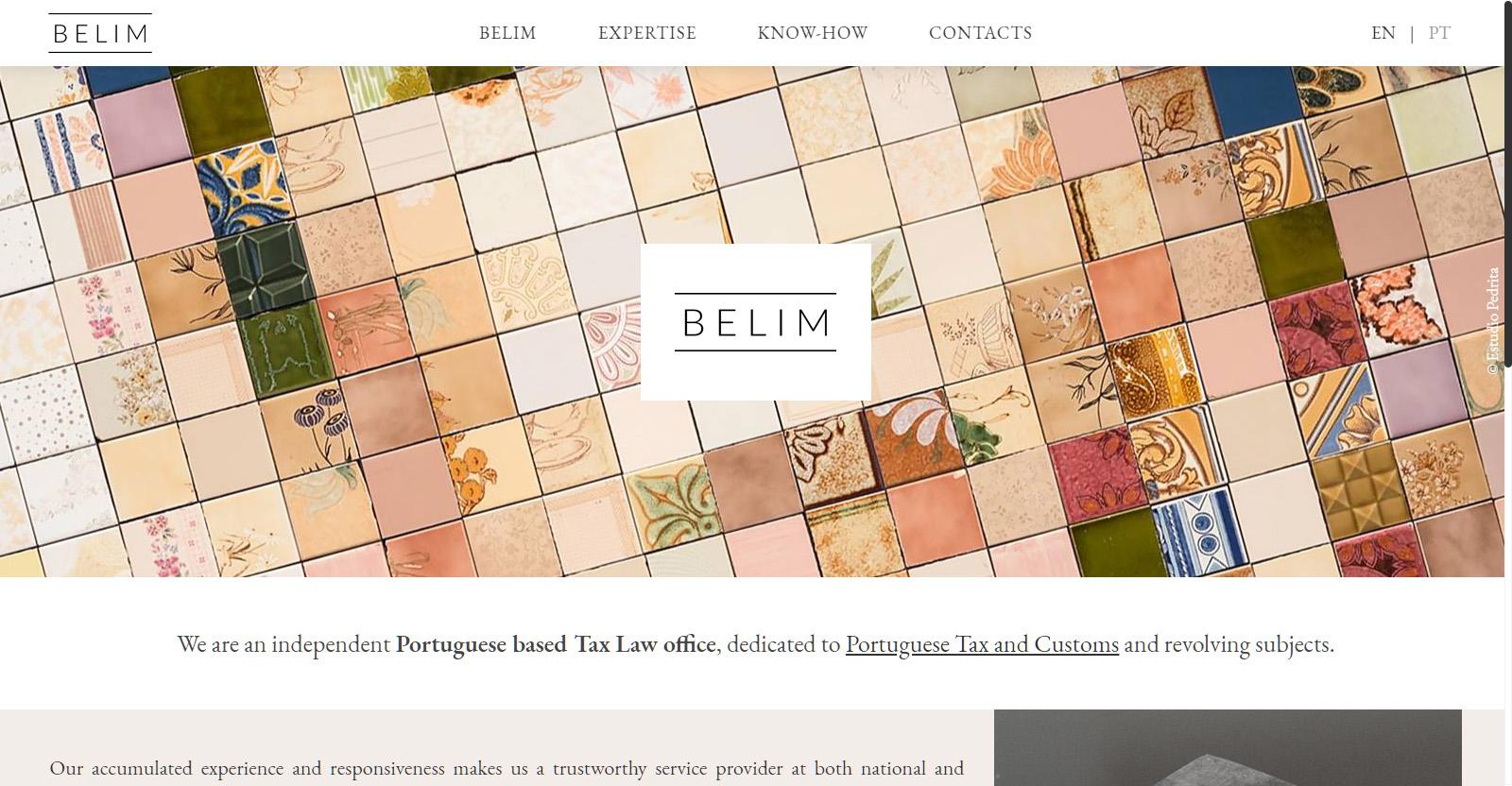 Website BELIM