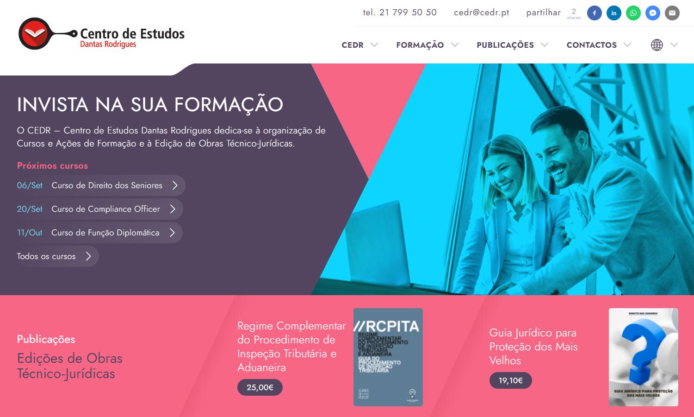 Site Centro de Estudos DR